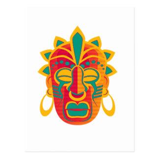Máscara Cartão Postal