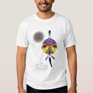 Máscara da evolução de Entheogenic Tshirt