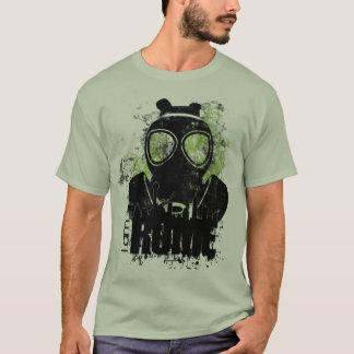 Máscara de gás camiseta