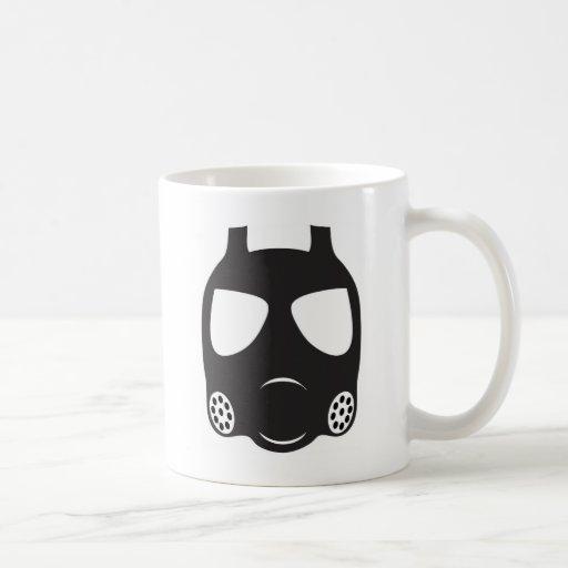 Máscara de gás caneca