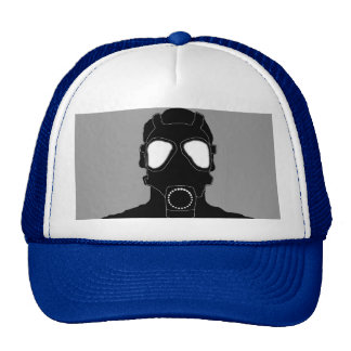 máscara de gás legal boné