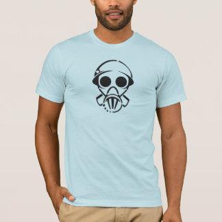 máscara de gás [o T] dos homens (luz) Camiseta