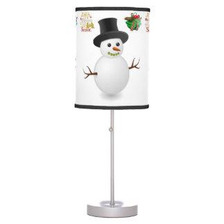 Máscara de lâmpada decorativa do Natal