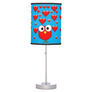 Máscara de lâmpada decorativa dos namorados