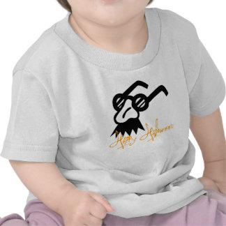 Máscara feliz da comédia do Dia das Bruxas Camiseta