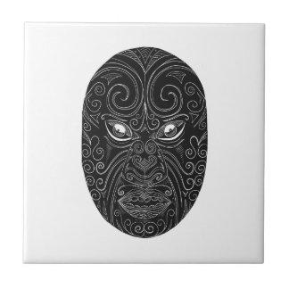 Máscara maori Scratchboard