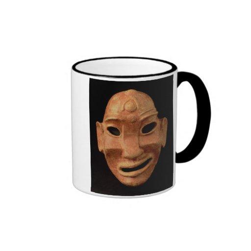 Máscara Negroid de Carthage, 7o-6o século BC (te Canecas