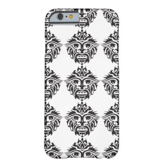 Máscara tribal - iPhone 6/6s, mal lá  Capa Barely There Para iPhone 6