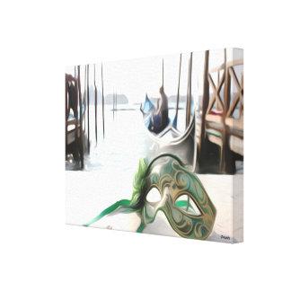 Máscara Venetian da cerceta em Italia - impressão