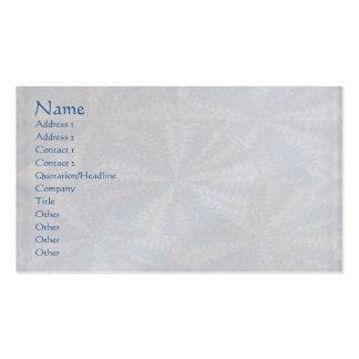 Máscaras Art101 da luz - marca cinzenta do papel Cartão De Visita