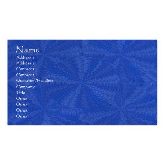 Máscaras Art101 da marca azul escuro do papel da Cartão De Visita