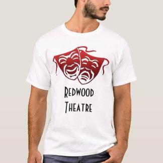 Máscaras da camisa w/Theatre da sequóia vermelha