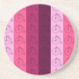 Máscaras de bicicletas cor-de-rosa porta-copo