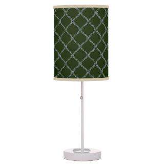 Máscaras de lâmpada decorativas do verde da faísca
