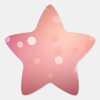 Máscaras diferentes abstratas do vermelho adesivos em forma de estrelas