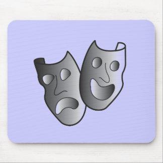 Máscaras do teatro mouse pad