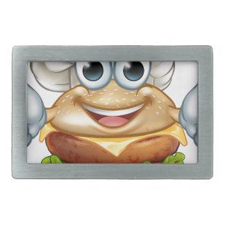 Mascote do personagem de desenho animado da comida