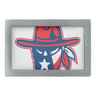 Mascote foragido da bandeira de Texas do Texan