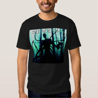 Massa assustador do homem delgado de Slenderman Camisetas