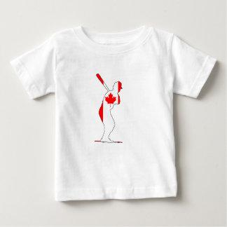 Massa de Canadá Camiseta Para Bebê
