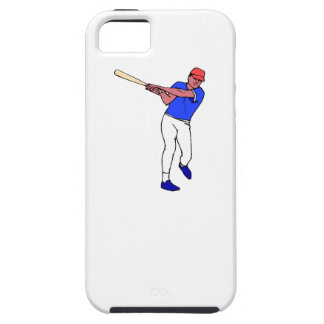 Massa do basebol dos desenhos animados iPhone 5 capa