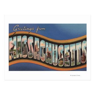 Massachusetts - grandes cenas da letra cartão postal