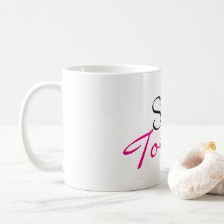 Massacre hoje a caneca de café engraçada