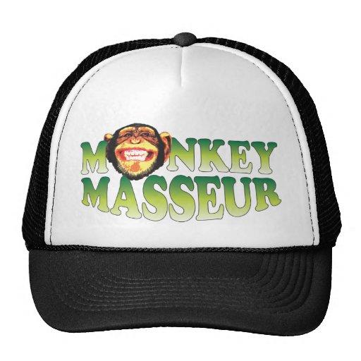 Masseur do macaco boné