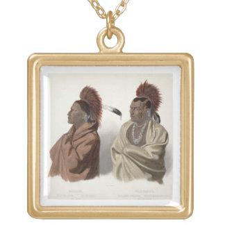 Massika, um indiano de Saki, e Wakusasse, um Musqu Pingente