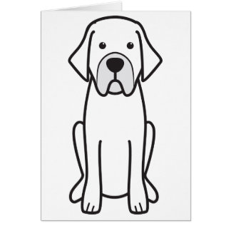 Mastiff espanhol cartões
