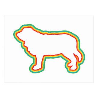 Mastiff espanhol cartões postais