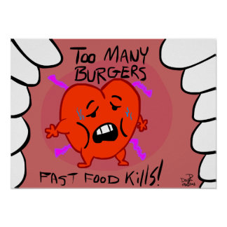 Matares do fast food! pôster