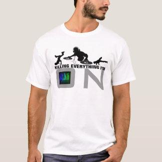 Mate o Tshirt da música do jogo Camiseta