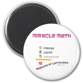 Matemática do milagre ímã redondo 5.08cm