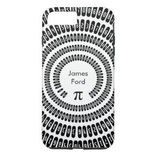 Matemática feliz dos dígitos 3,14 da matemática do capa iPhone 8 plus/7 plus