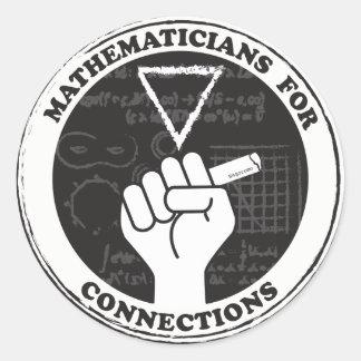 Matemáticos para etiquetas das conexões