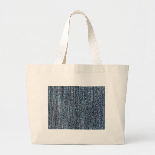 Matéria têxtil da sarja de Nimes de calças de gang Bolsas De Lona