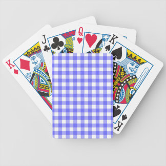 Material azul do guingão baralho para truco