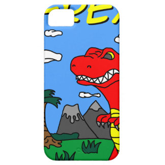 Material de T-Rex!!! Capa Barely There Para iPhone 5