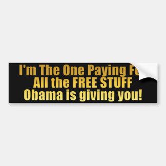 MATERIAL LIVRE! - Anti Obama Adesivo Para Carro