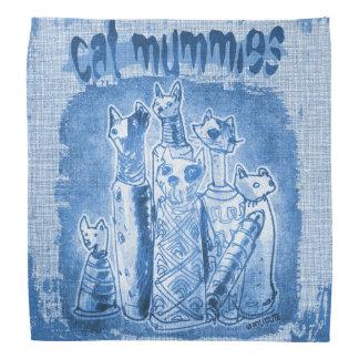 matiz do azul das mamãs do gato faixas para cabeça
