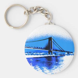 Matiz do chaveiro da ponte dos azuis