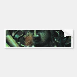 Matiz esverdeado da deusa adesivo para carro