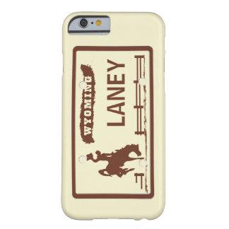 Matrícula de Wyoming Capa Barely There Para iPhone 6