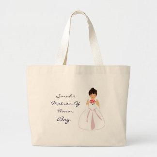 """Matron Of Honor I"" Bag - Customizable Tote Bags"