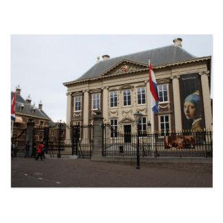 Mauritshuis Cartão Postal