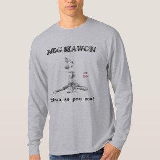 Mawon negativo camiseta