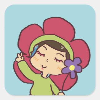 máximo a etiqueta da flor!!