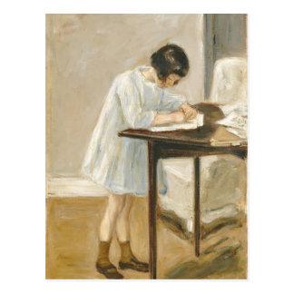 Máximo Liebermann- a neta do artista Cartao Postal