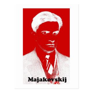 Mayakovsky Cartão Postal